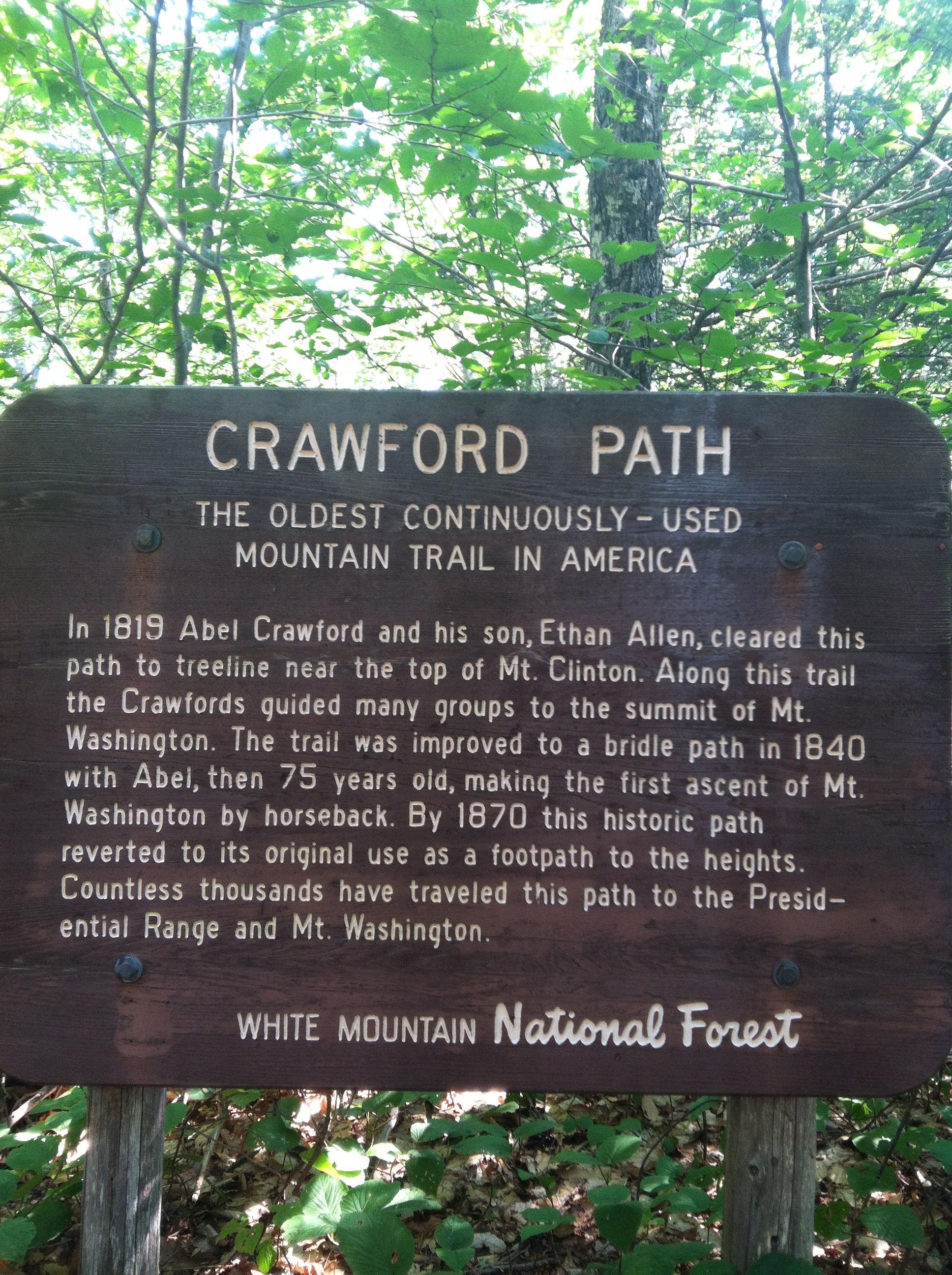 Crawford Notch State Park & HIKING IN THE WHITE MOUNTAINS | Bishop Farm